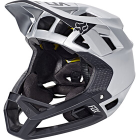 Fox Proframe Moth Helmet Men Black/Silver